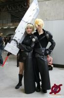 Cloud Female and Male Cosplay by varzam