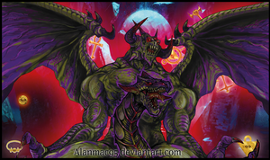 Zorc , The Creator God of Darkness [Artwork] by ALANMAC95