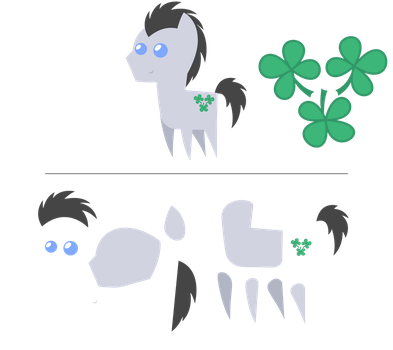 Pointy Ponies: Lucky Clover by EStories