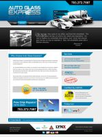 Auto Glass Express Website by dFEVER