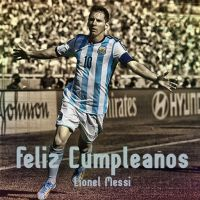 Happy Birthday Lionel Messi by dicky10official