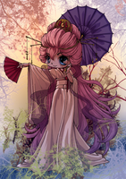 Magnificent Kimono Chibi Colored by kanogt