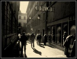 Shadows in Rome 1b by HarisDrako