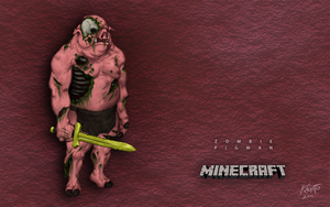 Zombie Pigman Wallpaper by StudioKagato