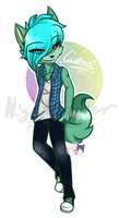 .:Art Trade:. Fuluv by NightSaber