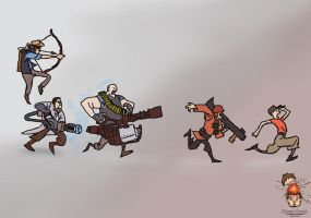 Team Fortress 2 by steveo-C