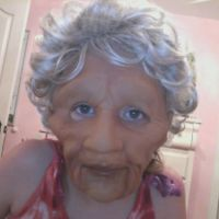 Old lady Mask by Drewetta