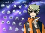 Advent Calendar 2014 - A Winter Story - Dec 24 by ChibiEdo
