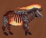 CDC Day 15 - Brazen Buffalo COLORED by Koeskull