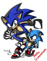Sonic Generations by Zubwayori