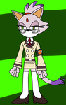 Blaze The Uniformed Cat by toamac