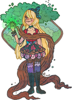 Earth Maiden Shilo by Ink-Jam