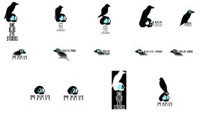 One Blue Eye Studios logo concepts! The 2nd wave! by OneBlueEyeStudios