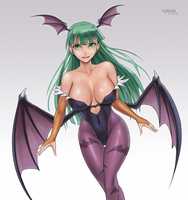 Morrigan Aensland by hybridmink