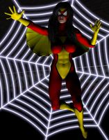 Spider-Woman by Stone3D