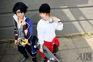K - Yata and Saruhiko by ShadowFox-Cosplay