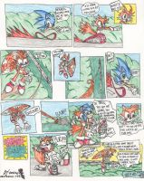 Tails and Sonic Chase Classic by KisiroBelmont