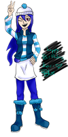 Gift: Happy Birthday, Kari~ by Blue-Fire-likes-pie