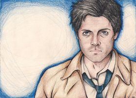 Castiel SPN color by shut-up136