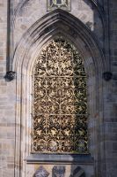Detail of St. Vitus's Cathedral by fairytale-gone-bad
