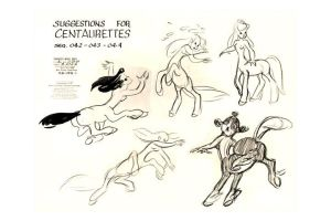 Female Centaurs 2 - Fantasia by HMontes