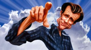 Jim Carrey by edvanderlinden