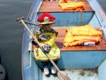 Little Prince Captaining A Boat by Randicus