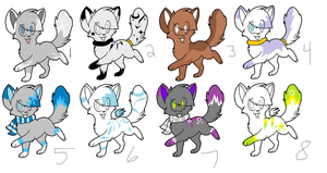Mix cat adopts by Icey-adopts