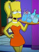 ''Lisa flavoured'' adult female Bart by Insert-artistic-nick