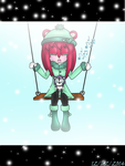 .:Contest:. Swing Kimberly and Plush Toy Berian by ShadowXLight1