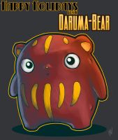 Daruma-Bear by Zatransis