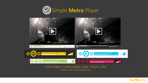 Simple Metro Player by sharkurban