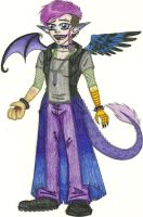 DH: WoI - Lillith-Demon Redesign by Jackie-Chaos-Bunny