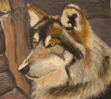 Mexican Wolf by Brit-Brit