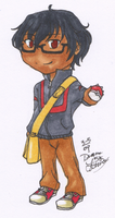 Hideo Chibi - Copics by chiyokins