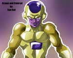 DragonBall Z Revival of F - Gold Frieza by SonBui