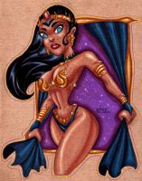 Dejah Thoris Commission by NLark