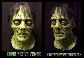 Radioactive zombie by Justin-Mabry