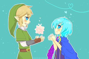 Link's Gratitude by Imouto-Thi