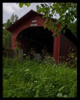 BattenKill  covered bridge by cove314