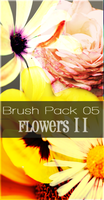 Brush Pack 05 - Flowers II by crystalcleargfx
