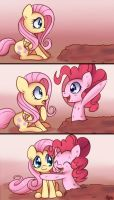 Peekaboo, I wuv you by Bukoya-Star