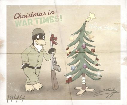 [Older Photo] Christmas in WarTimes 1944. by SAGADreams