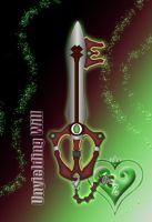 Contest Entry : Keyblade - Unyielding Will - by WeapondesignerDawe