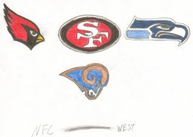 The NFL Project - NFC West by J-Mac09