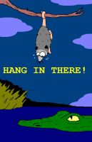 Hang In There,Possum by AVRICCI