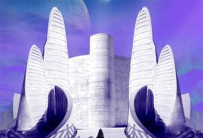 Power Rangers - Eltarian Temple by zordonfanclub