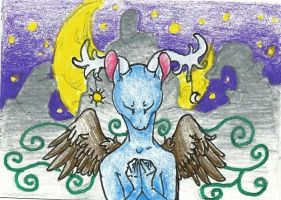 ACEO-Dreams by Hippous