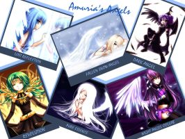 Amuria's Angels by Midnight-Dark-Angel