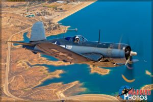 Corsair on the Hunt... Pinups will return soon! by warbirdphotographer